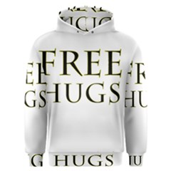 Freehugs Men s Overhead Hoodie by cypryanus