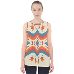 Symmetric Distorted Shapes                              Cut Out Tank Top