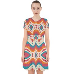 Symmetric Distorted Shapes                                Adorable In Chiffon Dress by LalyLauraFLM