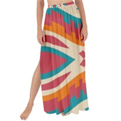 Symmetric Distorted Shapes                            Maxi Chiffon Tie-up Sarong by LalyLauraFLM