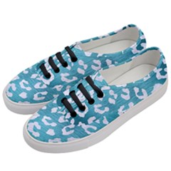 Skin5 White Marble & Teal Brushed Metal (r) Women s Classic Low Top Sneakers by trendistuff