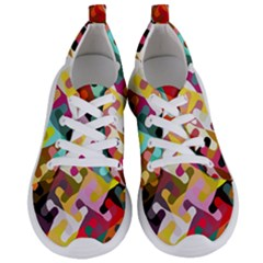 Colorful Shapes                       Women s Lightweight Sports Shoes