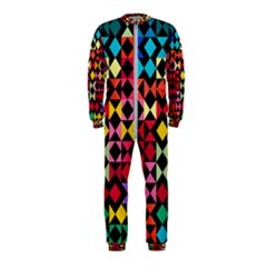 Colorful Rhombus And Triangles                                Onepiece Jumpsuit (kids) by LalyLauraFLM