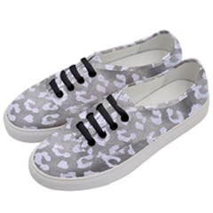 Skin5 White Marble & Silver Paint (r) Women s Classic Low Top Sneakers by trendistuff