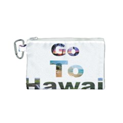 Hawaii Canvas Cosmetic Bag (small) by Howtobead