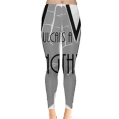 It s A Vulcan Thing Leggings  by Howtobead
