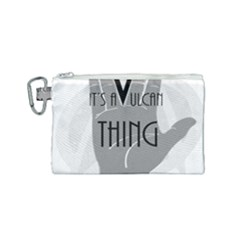 It s A Vulcan Thing Canvas Cosmetic Bag (small) by Howtobead