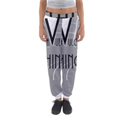 Vulcan Thing Women s Jogger Sweatpants by Howtobead