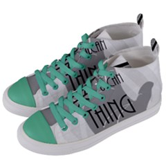Vulcan Thing Women s Mid Top Canvas Sneakers by Howtobead