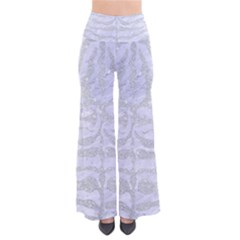 Skin2 White Marble & Silver Glitter (r) Pants by trendistuff