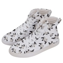 Birds Pattern Photo Collage Men s Hi Top Skate Sneakers by dflcprints