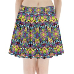 Pattern-12 Pleated Mini Skirt