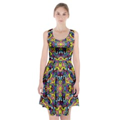 Pattern 12 Racerback Midi Dress