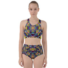 Pattern 12 Racer Back Bikini Set