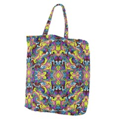 Pattern-12 Giant Grocery Zipper Tote