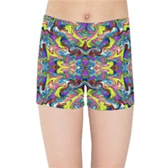 Pattern 12 Kids Sports Shorts