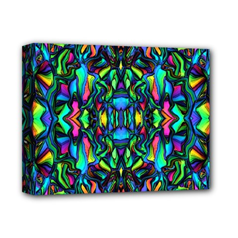Pattern 14 Deluxe Canvas 14  X 11  by ArtworkByPatrick
