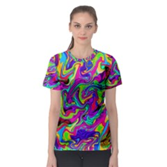 Artwork By Patrick Pattern 15 Women s Sport Mesh Tee by ArtworkByPatrick