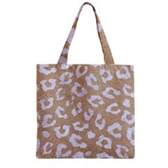 Skin5 White Marble & Sand (r) Zipper Grocery Tote Bag by trendistuff