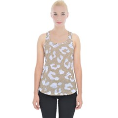Skin5 White Marble & Sand (r) Piece Up Tank Top by trendistuff
