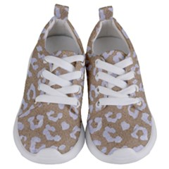 Skin5 White Marble & Sand (r) Kids  Lightweight Sports Shoes