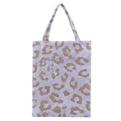 Skin5 White Marble & Sand Classic Tote Bag by trendistuff
