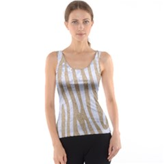 Skin4 White Marble & Sand (r) Tank Top by trendistuff