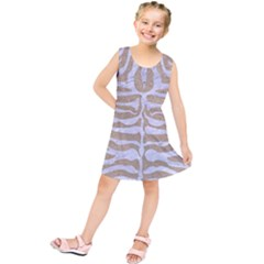 Skin2 White Marble & Sand Kids  Tunic Dress
