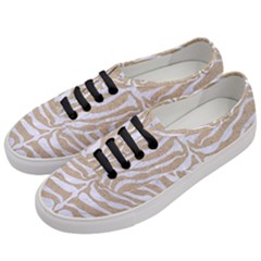 Skin2 White Marble & Sand Women s Classic Low Top Sneakers by trendistuff