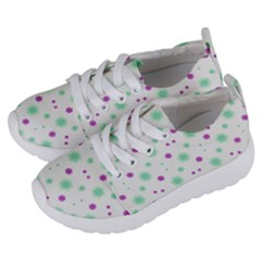 Stars Motif Multicolored Pattern Print Kids  Lightweight Sports Shoes by dflcprints