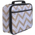 CHEVRON9 WHITE MARBLE & SAND (R) Full Print Lunch Bag View3