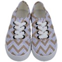 CHEVRON9 WHITE MARBLE & SAND (R) Kids  Classic Low Top Sneakers View1