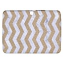 CHEVRON3 WHITE MARBLE & SAND Samsung Galaxy Tab 3 (10.1 ) P5200 Hardshell Case  View1