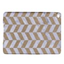 CHEVRON1 WHITE MARBLE & SAND iPad Air 2 Hardshell Cases View1