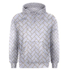BRICK2 WHITE MARBLE & SAND (R) Men s Pullover Hoodie