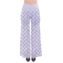Brick2 White Marble & Sand (r) Pants by trendistuff