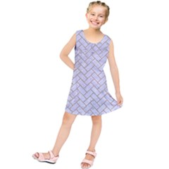 Brick2 White Marble & Sand (r) Kids  Tunic Dress by trendistuff