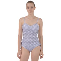 Brick2 White Marble & Sand (r) Sweetheart Tankini Set by trendistuff