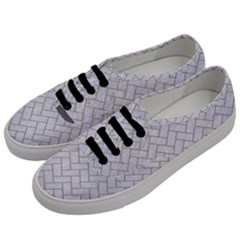 Brick2 White Marble & Sand (r) Men s Classic Low Top Sneakers by trendistuff