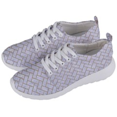 Brick2 White Marble & Sand (r) Men s Lightweight Sports Shoes by trendistuff