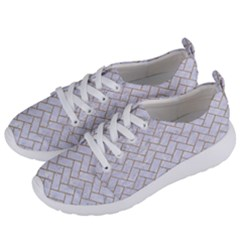 Brick2 White Marble & Sand (r) Women s Lightweight Sports Shoes by trendistuff