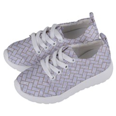 Brick2 White Marble & Sand (r) Kids  Lightweight Sports Shoes by trendistuff
