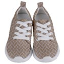 BRICK2 WHITE MARBLE & SAND Kids  Lightweight Sports Shoes View1
