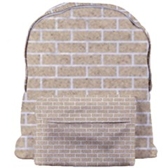 Brick1 White Marble & Sand Giant Full Print Backpack