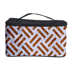 WOVEN2 WHITE MARBLE & RUSTED METAL (R) Cosmetic Storage Case