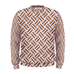 WOVEN2 WHITE MARBLE & RUSTED METAL (R) Men s Sweatshirt