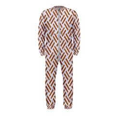 WOVEN2 WHITE MARBLE & RUSTED METAL (R) OnePiece Jumpsuit (Kids)