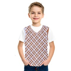 WOVEN2 WHITE MARBLE & RUSTED METAL (R) Kids  SportsWear