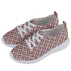 WOVEN2 WHITE MARBLE & RUSTED METAL (R) Women s Lightweight Sports Shoes
