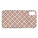WOVEN2 WHITE MARBLE & RUSTED METAL (R) Apple iPhone X Hardshell Case View1
